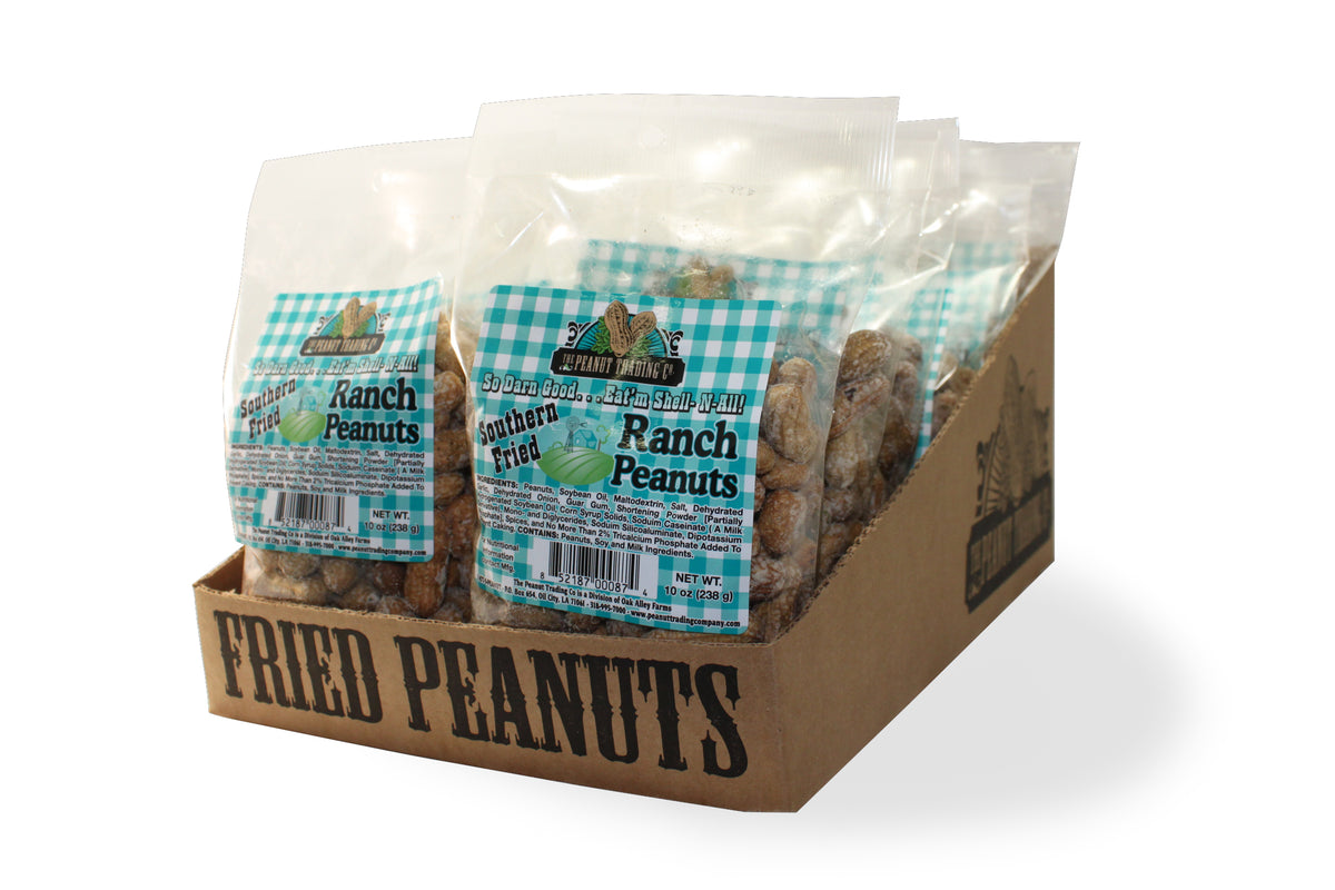 Peanut Trading Company - Deep Fried Peanuts Counter Display - Ranch