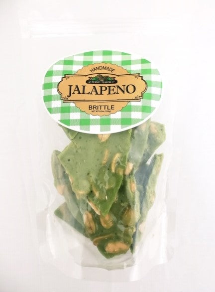 Peanut Trading Company Brittle - Brittle Counter Display - Jalapeno Peanut