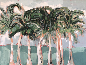 Palm Beach Row Palms