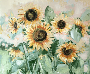 Sunflowers for Mrs. Otto