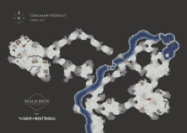 Cragmaw Hideout from Lost Mine of Phandelver