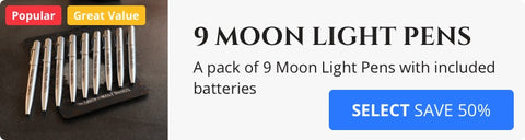 Moon Light Pen 9 Pack
