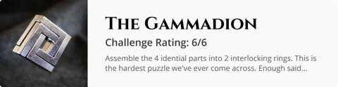 The Gammadion Cast Puzzle for Dungeons and Dragons