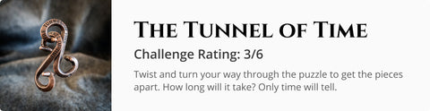 The Tunnel of Time Cast Puzzle for Dungeons and Dragons