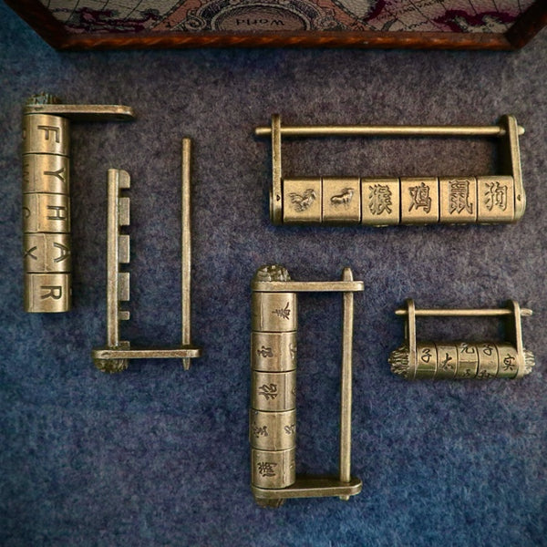 Ornate Padlock Puzzle Bundle