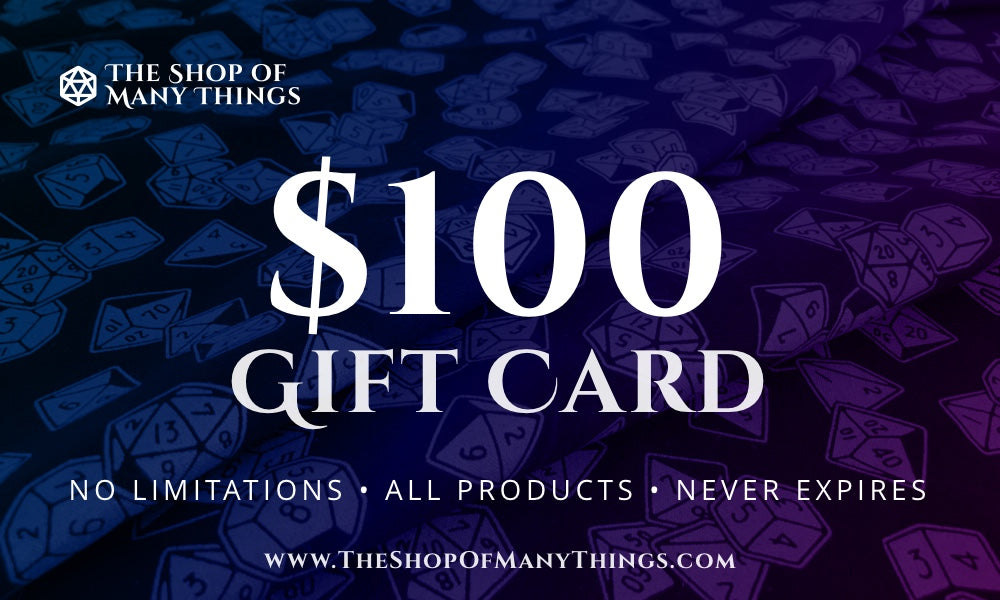 The Shop of Many Things - Gift Card
