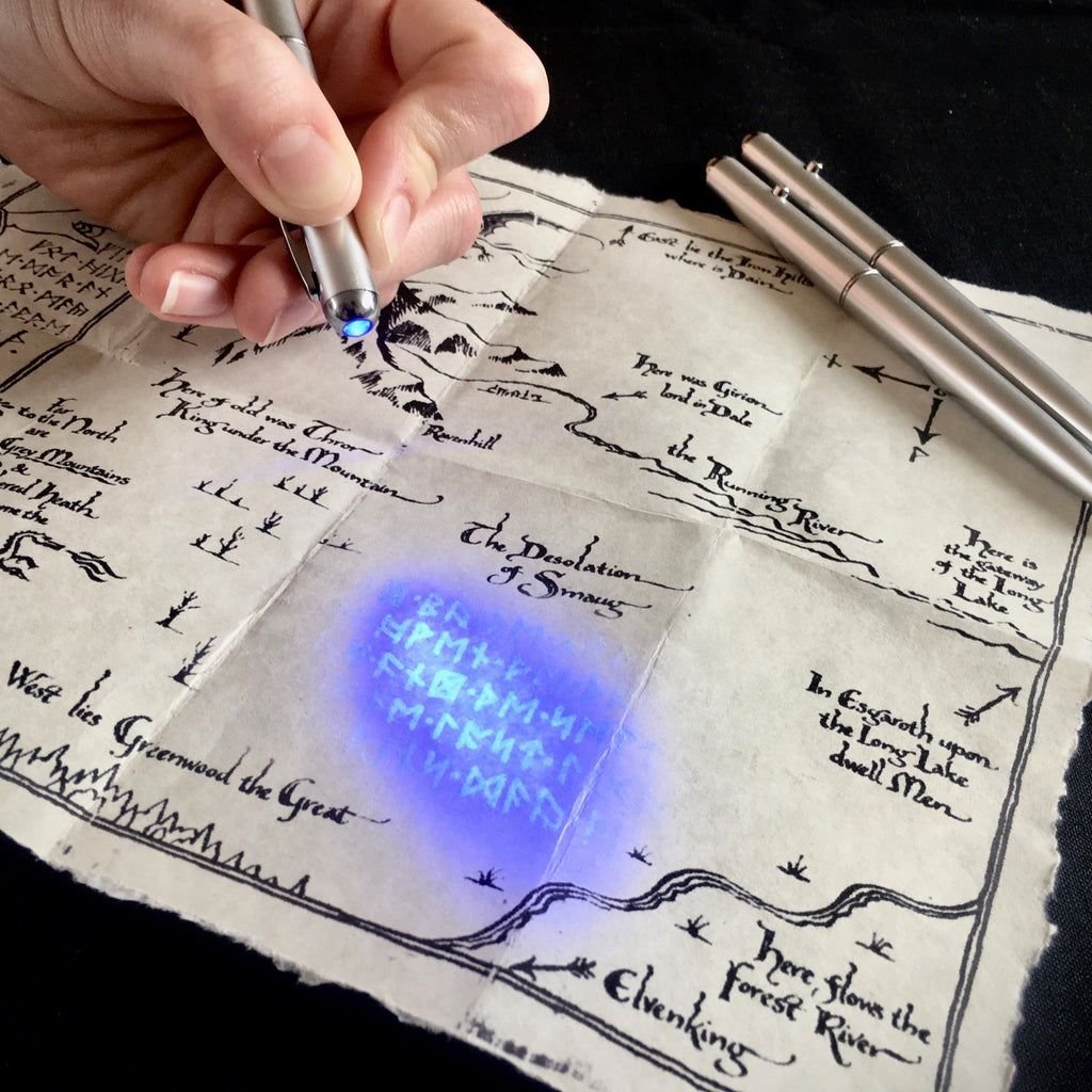 Moon Light Pen with Hobbit Map