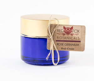 ROSE GERANIUM - Body Cream
