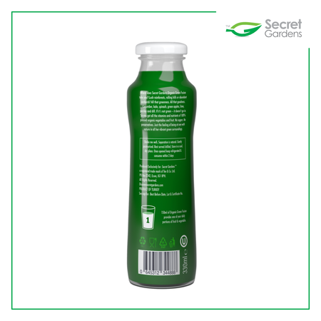 Organic Green Fusion Smoothie (Pack of 12 x 330ml)