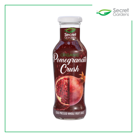 Organic Pomegranate Crush Juice (Pack of 12 x 250ml)