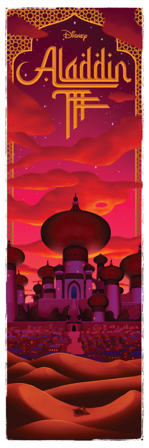 "Ben Harman ""Aladdin (Night)"""