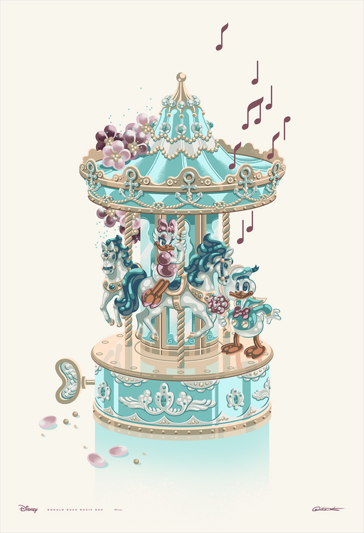 "George Caltsoudas ""Donald Duck Music Box"""