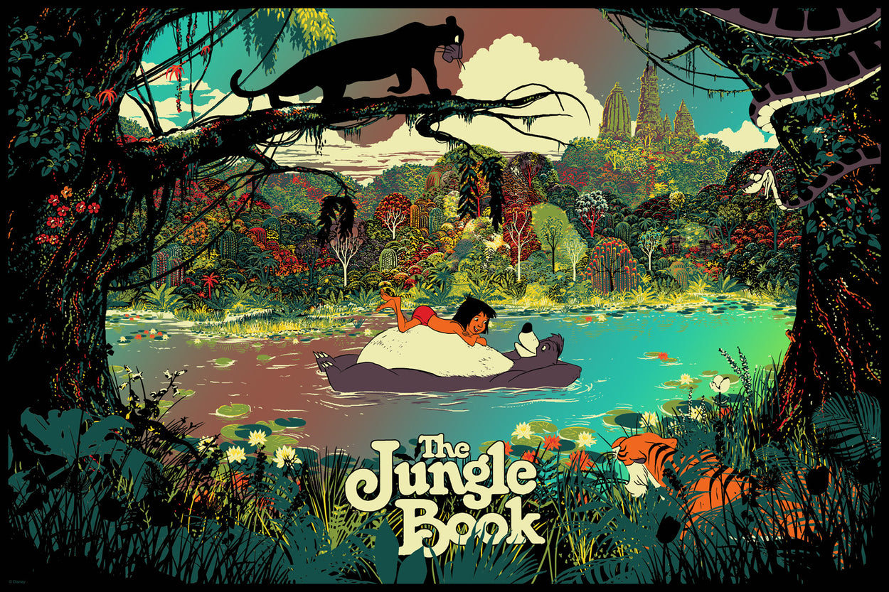 "Raid71 ""The Jungle Book"" Foil Variant"