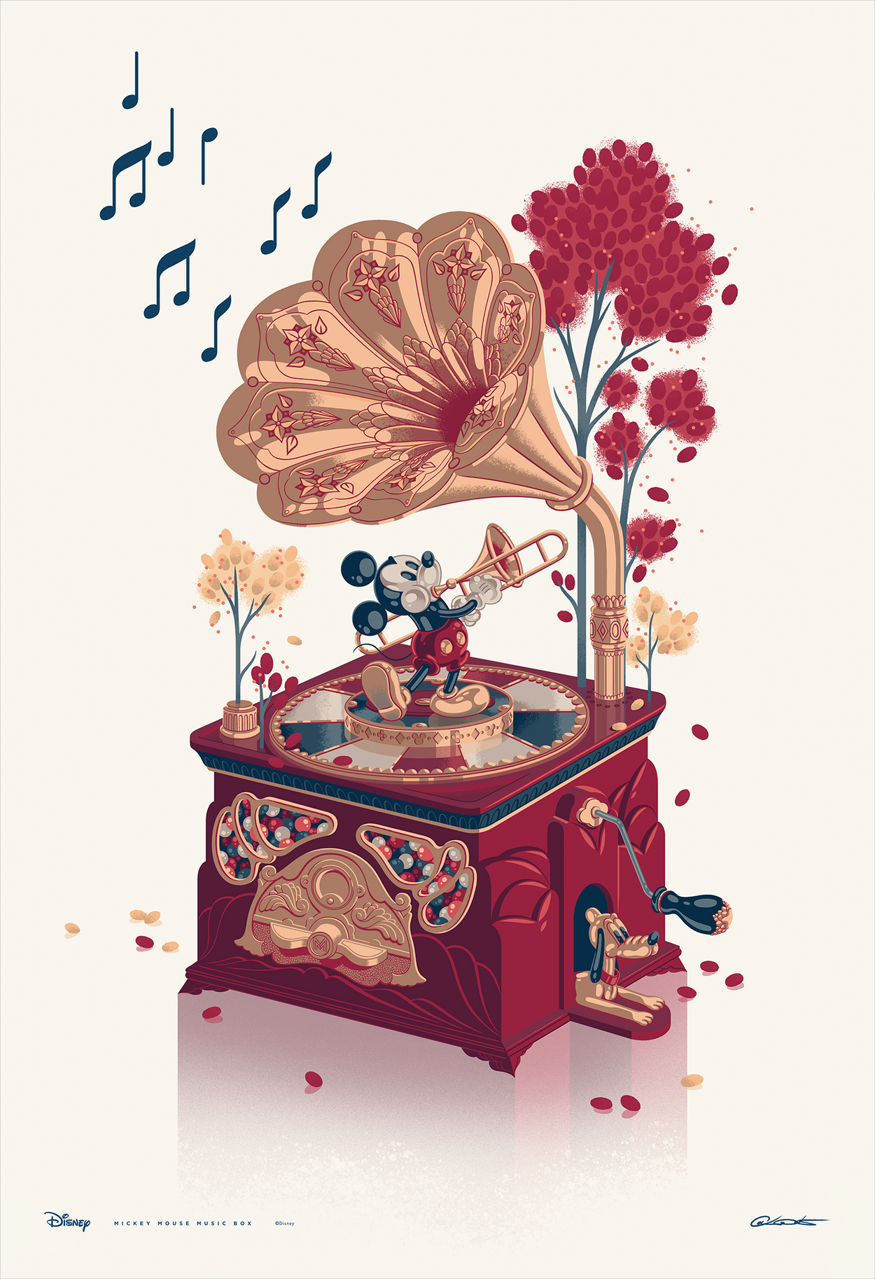 "George Caltsoudas ""Mickey Mouse Music Box"""