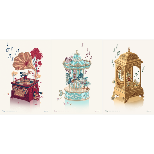 "George Caltsoudas ""Music Box"" SET"