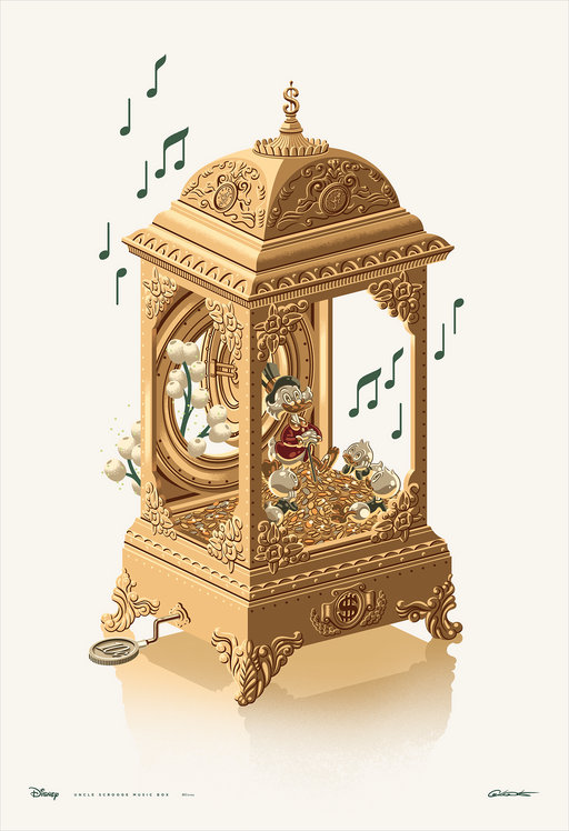 "George Caltsoudas ""Uncle Scrooge Music Box"""