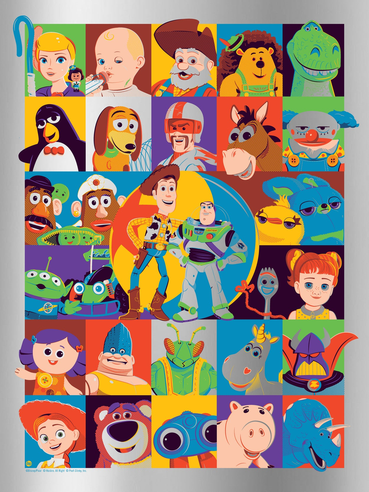 "Dave Perillo ""Toy Story"" Foil Edition"