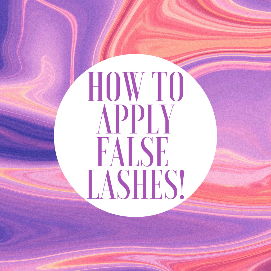 HOW TO APPLY FALSE LASHES QUICKER THAN EVER