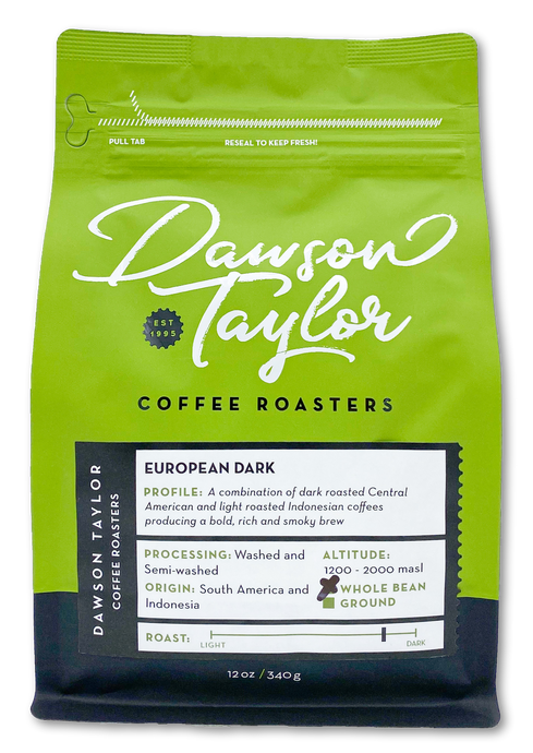 12 oz. European Dark Blend