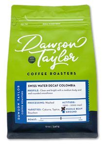12 oz. Swiss Water Decaf Colombia