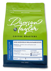 12 oz. Swiss Water Decaf  India Ratnagiri Estate