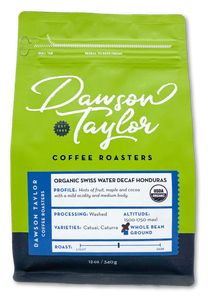 12 oz. Organic Swiss Water Decaf Honduras