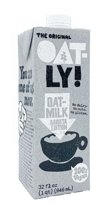 Oatly Oat Milk | Barista Edition