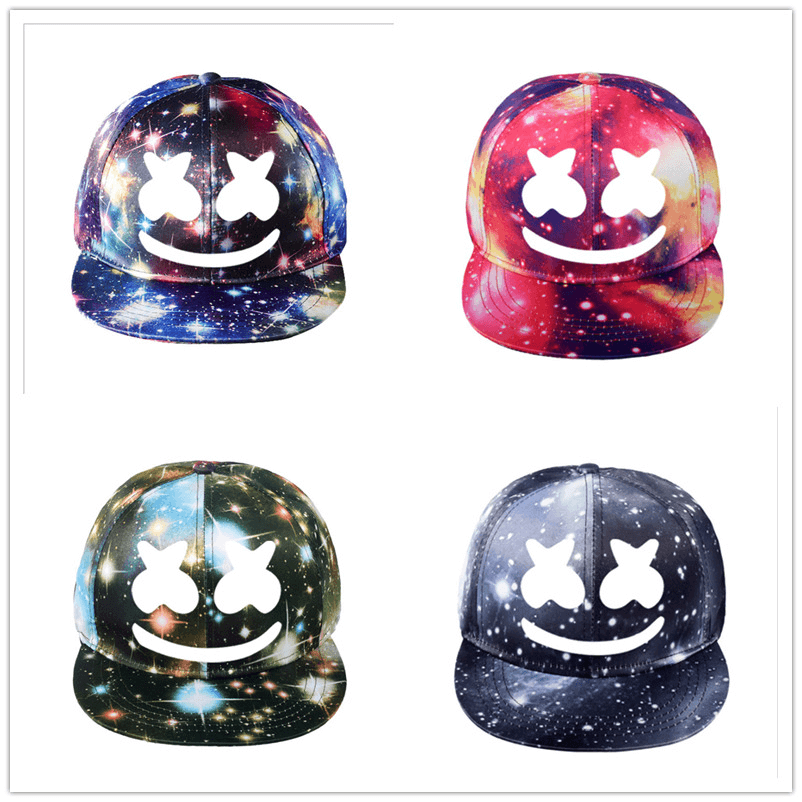 DJ Marshmello Hat Adjustable Visor Baseball Cap