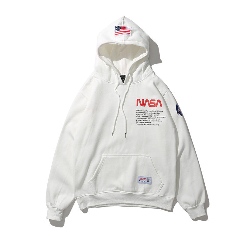 3D Print NASA Hoodie Men/Women Thick Sweatshirt