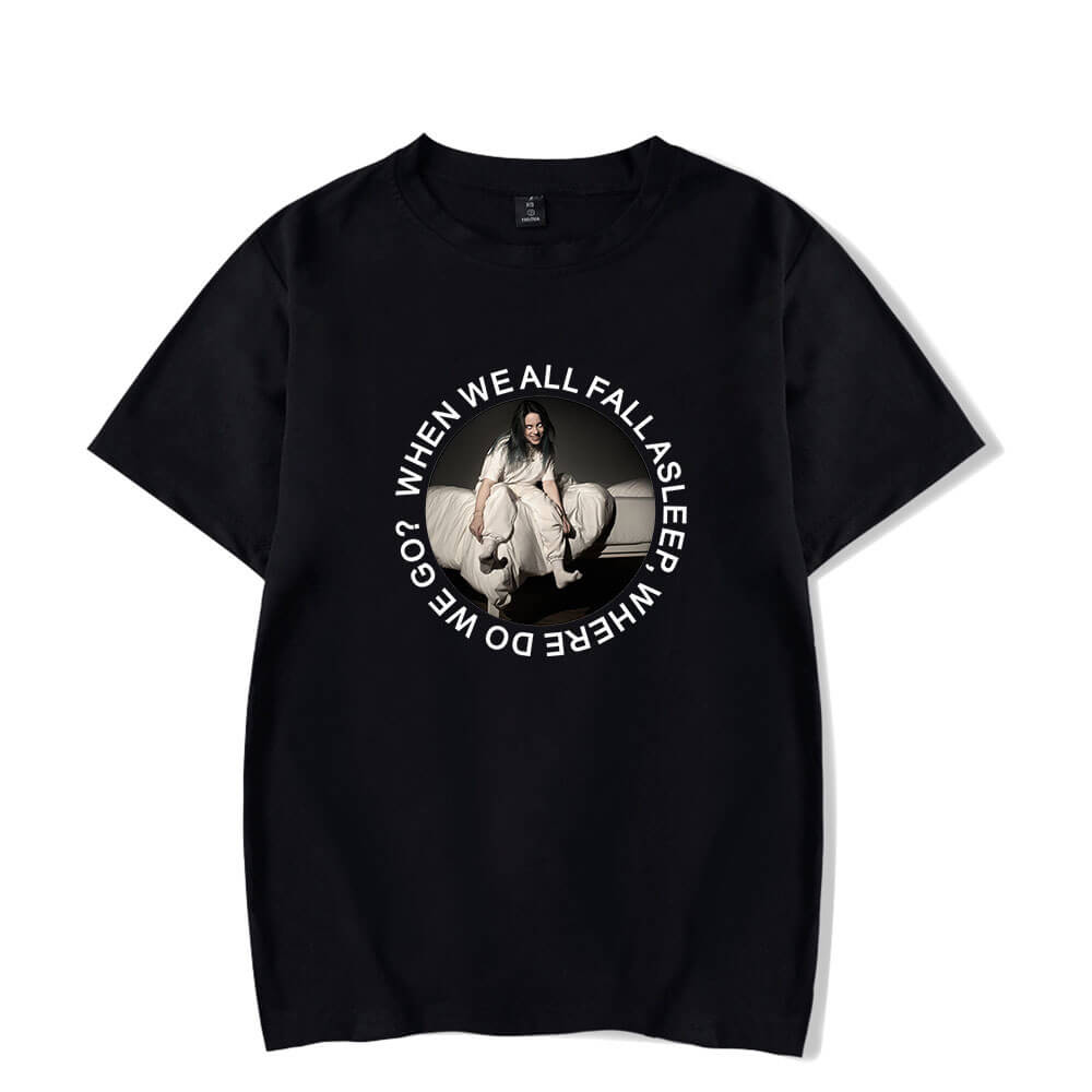 Billie Eilish Newest Women/Men T-Shirt Tops