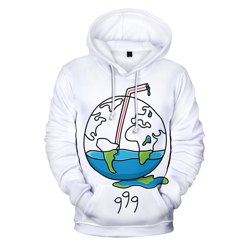 Juice Wrld 3D 999 Hoodies Men/Women New Print Sweatshrts