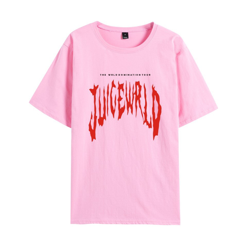 Juice Wrld Hip Hop Women/Men T Shirt Tops