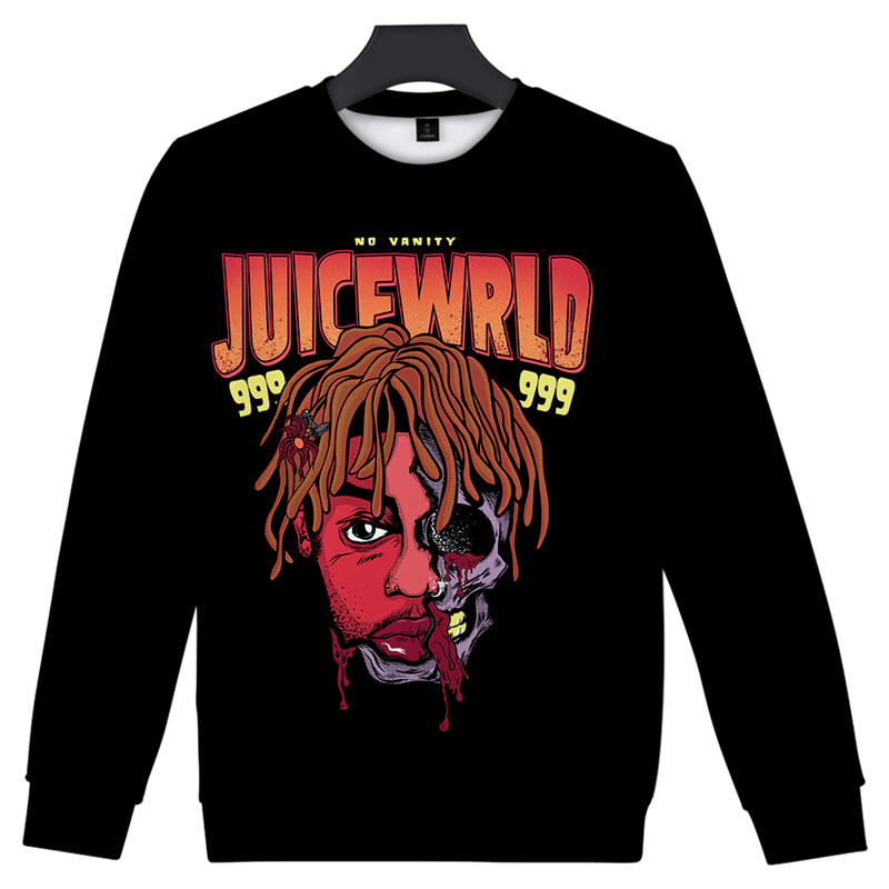 Juice Wrld Men Women Hoodie 3D Print Sweatshirt
