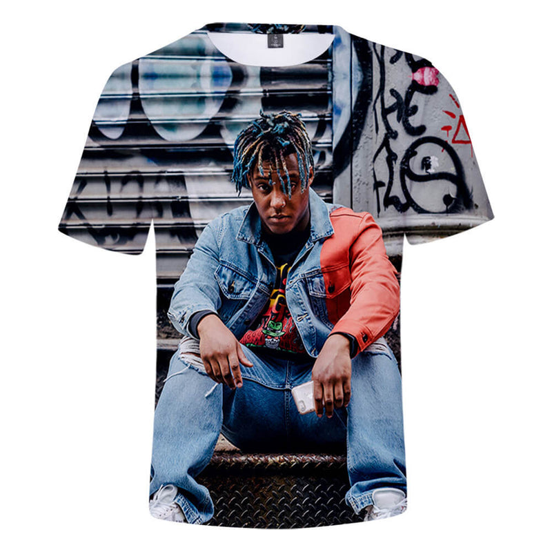 Juice Wrld 3D Short Sleeve T Shirt Unisex Tops