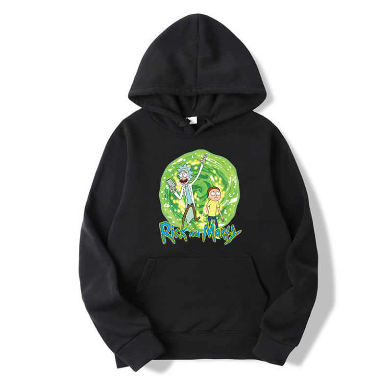 Men/Women New Fashion Print Rick and Morty Hoodie