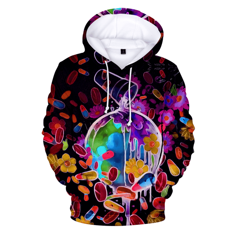 Men/Women Juice Wrld 3D Hoodies Fashion Print Streetwear