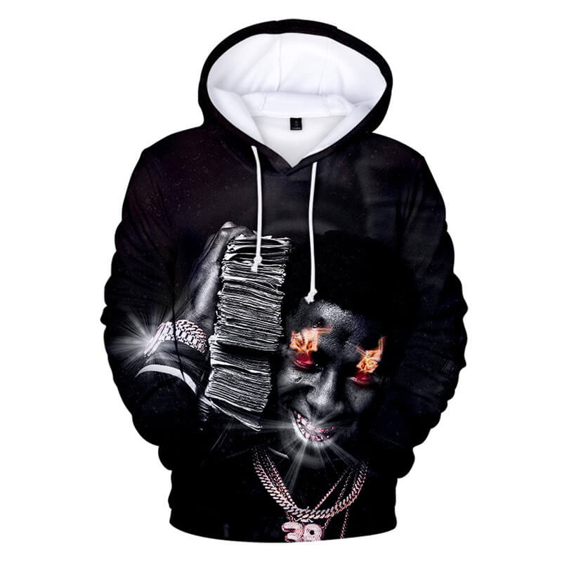 Fashion Men/Women 3D YoungBoy Never Broke Again Hoodie
