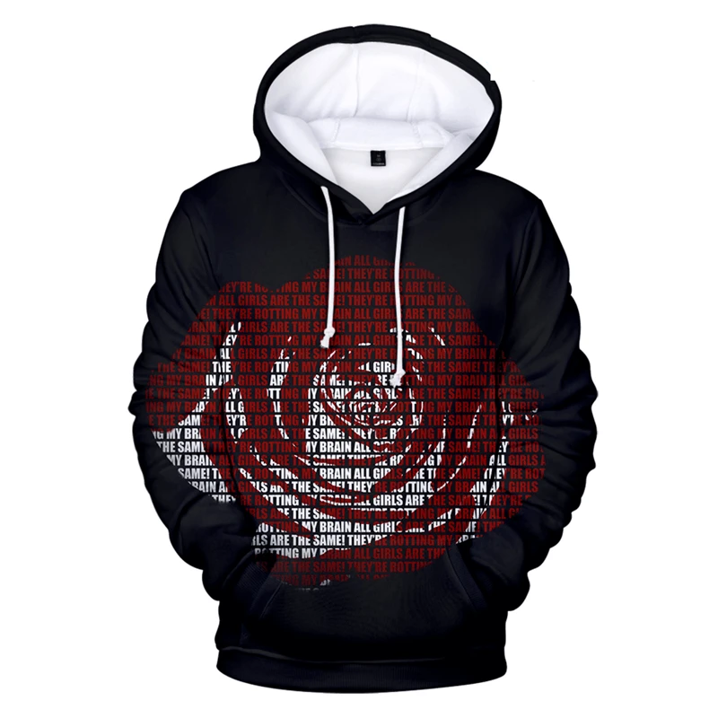 Men Women 3D Print Fashion Juice Wrld Hoodie