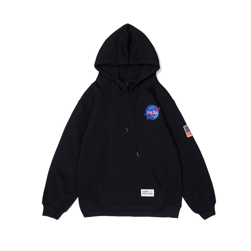 NASA Logo Fashion Hoodie Men&Women Sweatshirt