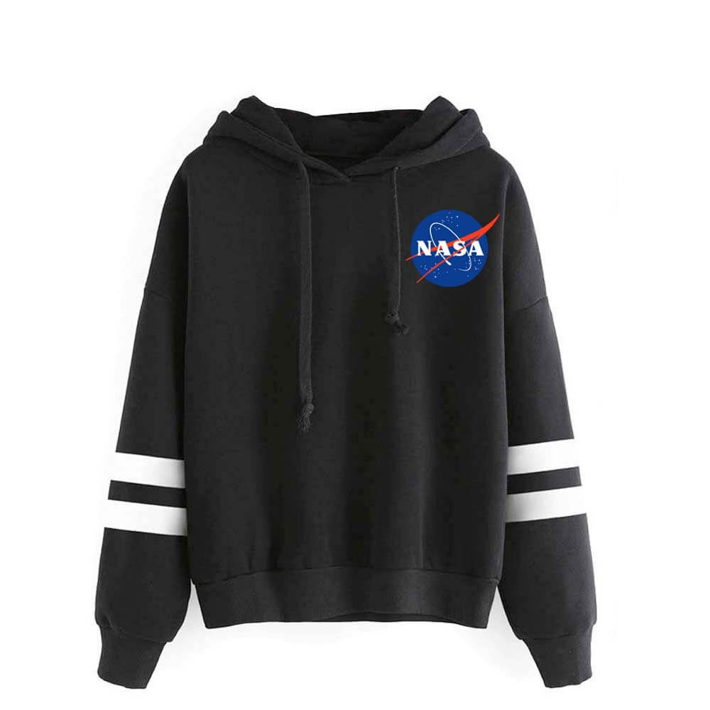 NASA Logo Men Women Hoodie Fashion Sweatshirt