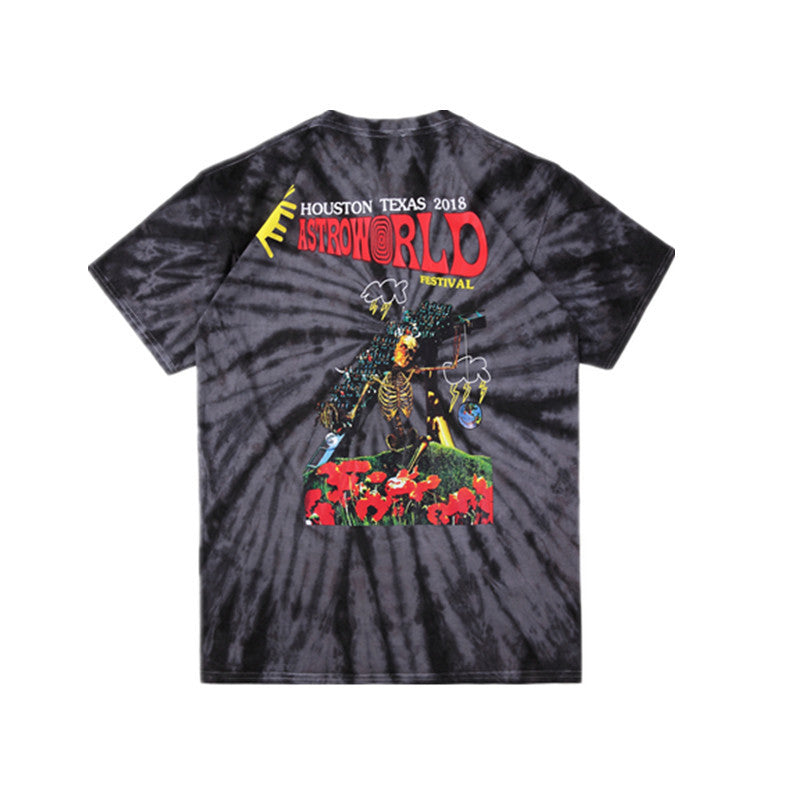 Newest Print Astroworld T-Shirts Unisex Tops