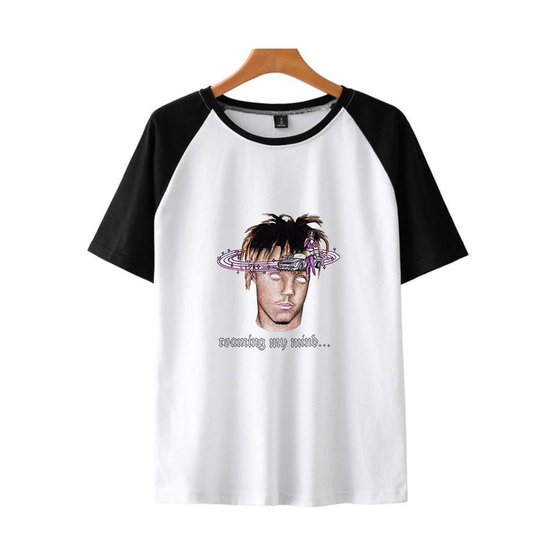 Unisex Rapper Juice Wrld T Shirt Hip Hop Print Tops