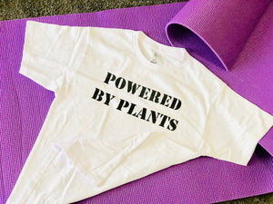 POWERED BY PLANTS Cotton Tshirt