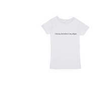 "Load image into Gallery viewer, ""I think therefore I am...Vegan."" Soft Organic ethically sourced cotton designed and printed in Melbourne Australia in bio degradable ink."