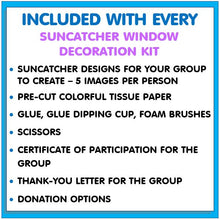 Load image into Gallery viewer, Community Service Project Kit - Create & Donate Window Suncatchers