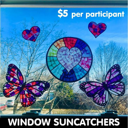 Community Service Project Kit - Create & Donate Window Suncatchers