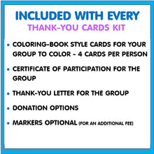 Load image into Gallery viewer, Community Service Project Kit - Color & Donate Thank-You Cards