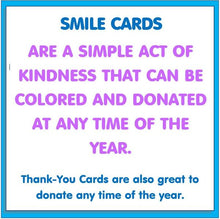 Load image into Gallery viewer, Community Service Project Kit - Color & Donate Smile Cards