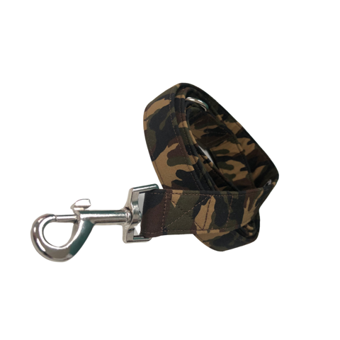 Camo Print Dog Lead By Urban Tails