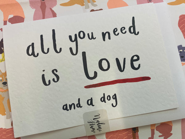 All You Need Is Love Greeting Card By Nadine Hume